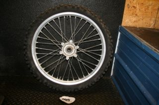 Yamaha YZ125 Front Wheel Hub Rim Spoke