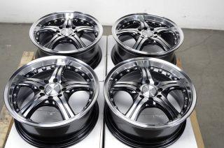 Effect Black Rims Ford Focus Fiesta Mercury Passat Alloy Wheels