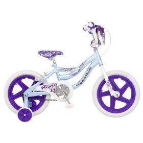 Mongoose Pizazz Girls Bike 16 inch Wheels New