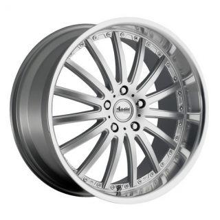 18x8 Advanti Racing Afoso 5x112 45 Silver Wheels Rims