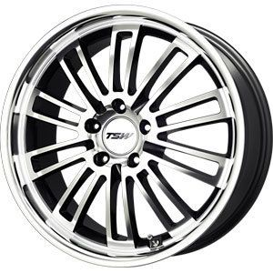 New 17x8 5x112 TSW Nardo Gun Metal Wheels Rims