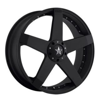 17 inch Rockstar Car Black Wheels Rims 5x112 ml Class C300 R Class CLK