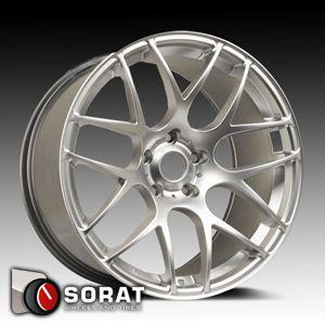 18 ARA Wheels Mesh 18x8 5 5x112 35ET Audi A4 A3 A6 VW Jetta Golf
