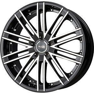 New 20x8 5x112 Prado Prado Arcana Black Wheels Rims