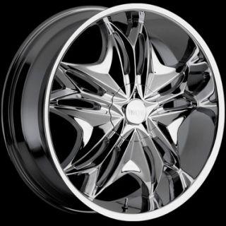 20 inch Viscera 728 Wheels Rims Chrome 5x108