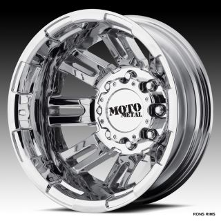 Metal Chrome 963 Dually 16 x 6 Chevy GMC Motor Home Wheels