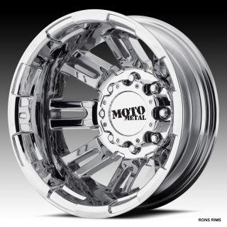Metal Chrome 963 Dually 16 x 6 Chevy GMC Motor Home Wheels