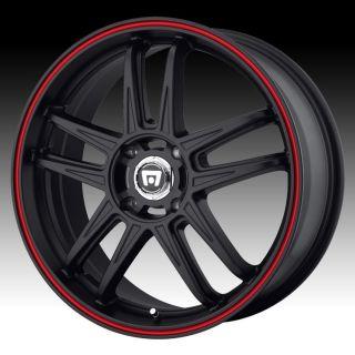 20 inch Motegi MR117 Black Wheels Rims 5x4 5 Town Country Avenger