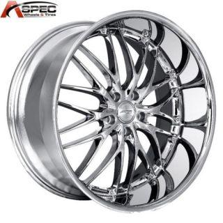 MRR GT1 19x8 5 5x120 20 Chrome Rims Wheels BMW