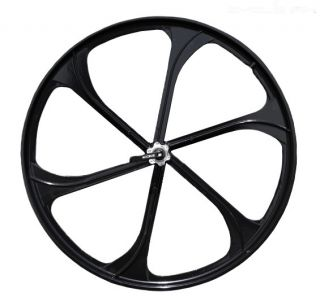26 Bike Mountain Bike Front Wheels Disc Brake Only w Q R Black