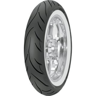 New Avon AV71 Cobra Front Tire MH90 21 56V Wide White Wall