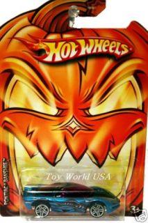 2009 HW Wal Mart Halloween Fright Cars Pontiac Banshee