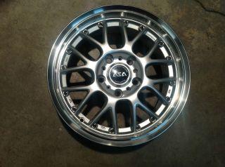 ASA BMW AR1 16 Silver Machined Lip Wheel Single 16x7 5x120 38mm