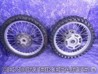 Excel Wheel Set Front Rear Rims 2000 2008 YZ450F YZ125 YZ250