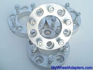 5x4 75 to 5x5 5x120 7 Hub to 5x127 Wheel Adapters 4 Rim Spacers 1 25