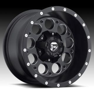 15 inch 15x10 Fuel Revolver Black Wheel Rim 5x5 5x127 Jeep Wrangler
