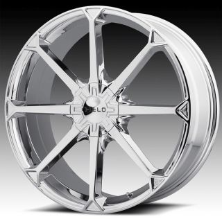 20 inch Helo Chrome Wheels Rim 20x8 42 5x115 300C AWD Charger