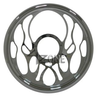 14 Chrome Full Billet Aluminum Steering Wheel 9 Hole 67 94 Chevy GMC