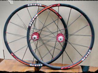 New Twinpair Spokes XC Xride Rim 26 MTB Disc Brake Wheelset Black W16
