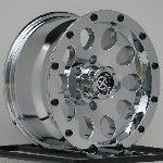 17 inch Chrome Wheels Rims Jeep Wrangler JK 5x5 5x127 X NEW 5 Lug Set