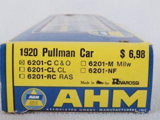 AHM 6201 C HO 1920 Pullman Passenger Car C O 121