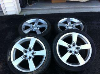 Set of 4 Mazda RX8 Wheels Tires Rims 5x114 3 18