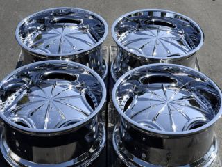 65 Chrome Mizati Rims Jeep Liberty Highlander Explorer Wheels