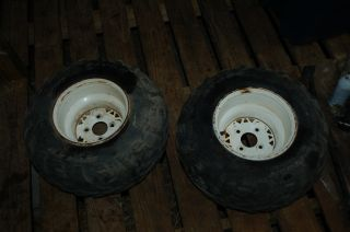 Magnum Trail Boss ATV BOTH REAR RIMS AND TIRES WHEELS FREE SHIPPING