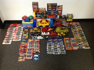 of VW Beetle Bug Bus Toy Matchbox Hot Wheels Johnny Lightning