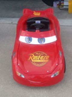 Used Power Wheels Fisher Price Disney / Pixar Cars Lightning McQueen