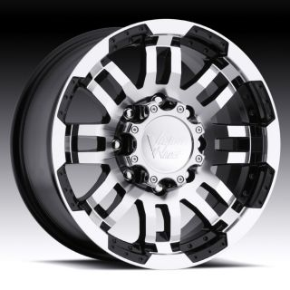 18 inch Vision Warrior Black Wheels Rims 6x5 5 6x139 7