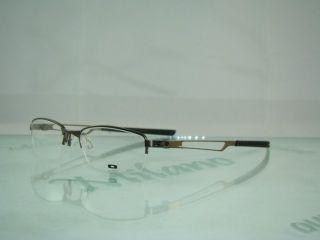 Ox 3109 0350 Pewter Half Rim Glasses Frames Eyeglasses Size 50