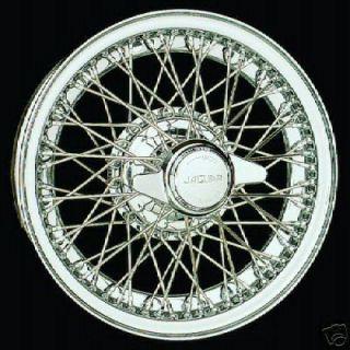 New Set 4 Dayton Wire Wheels Jaguar XK 120 140 150