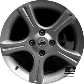 Nissan Sentra 2002 2003 17 inch Compatible Wheel Rim