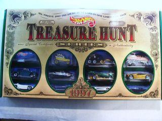 Hot Wheels 1997 Treasure Hunt JC Penny Box Set Unopened Mint In Mint