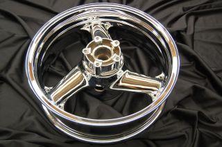 1995 1996 1997 Kawasaki Ninja zx9r Chrome Rear Rim Wheel Rims
