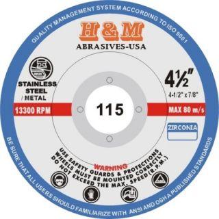 10 Pro Flap Discs 4 1 2 x 7 8 Grinding Wheel Zirc 120