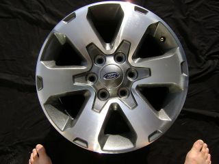 Ford F150 FX 6 Spoke Charcoal 18 18x7.5 OEM Factory Rim Wheel and Cap