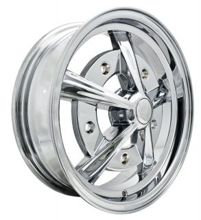 Empi Raider Rim 5 5 x 15 Chrome Wheel VW Bug Type 1 2 3