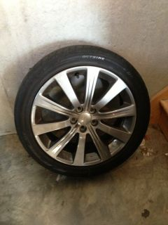 Subaru Impreza WRX Rims Tires