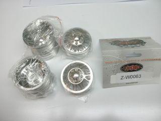 Double Trouble Dually Aluminum 1 9 Wheels Z W0063 F350 SCALE ALUM