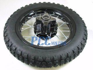 12 Rear Rim Wheel Honda XR50 CRF50 110 125 Pit Bike 12 K