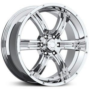 20 inch 20x8 5 Eagle 070 PVD Chrome Wheel Rim 6x135 F150 Expedition
