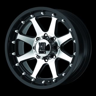 18 Black Wheels Tires 8x165 Chevy GMC Dodge 265 70 18 Falken Wild at