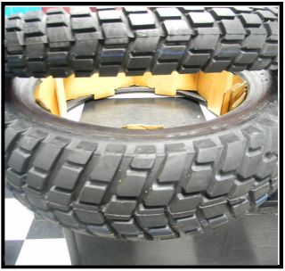Dual Sport Tire Set 90 90 21 130 80 17 for KLR650
