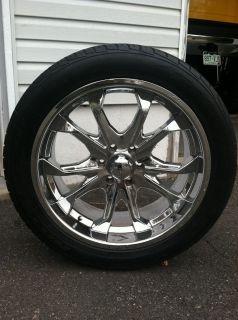 Used Rims 6 Lug GMC Nitto Tires NR