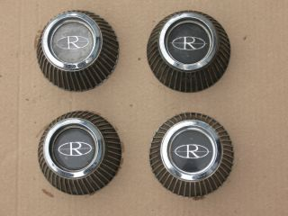 1966 1969 Buick Riviera Road Wheel Center Caps Good Condition Four