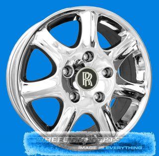 Silver Shadow Corniche Camargue 18 inch Chrome Wheels 18 Rims