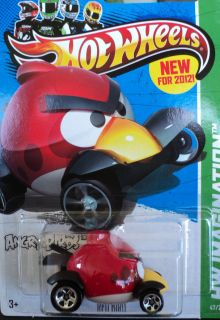 2013 Hot Wheels Angry Birds Red Bird