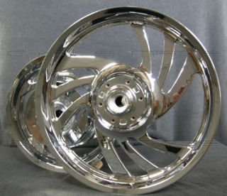 Honda VTX 1300C Chrome Rims Wheels Outright Sell